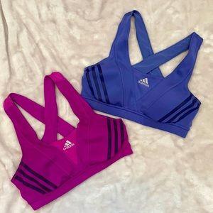 Adidas Climacool Sports Bra 2 pack!